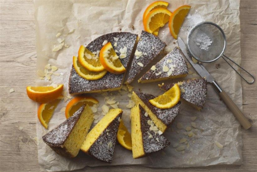 NÄDALA KOOK | Väherasvane, laktoosi- ja gluteenivaba lihtne apelsini-mandlikook