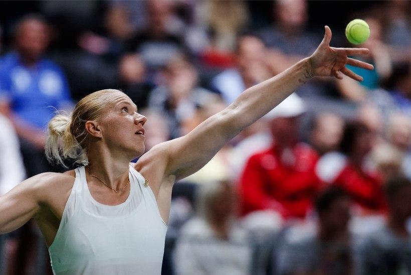 Võimsas hoos Kanepi pääses tugeva WTA turniiri poolfinaali ja sai teada Australian Openi vastase