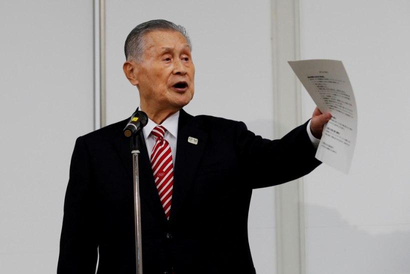 KUIDAS PALUN? Tokyo olümpiamängude juhtfiguur tegi seksistliku avalduse: naised räägivad liiga palju!