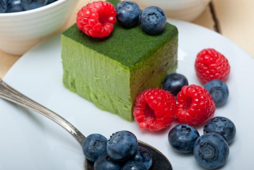 EVELIN ILVESE KOKAKOOL | Roheline(!) toorjuustukook matcha´ga Jaapanist