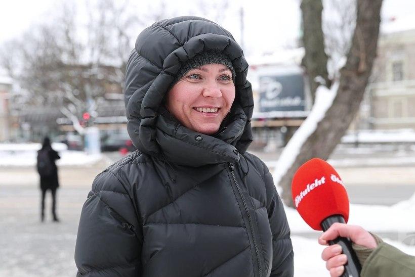 TÄNAVAKÜSITLUS | Kas pöörate tähelepanu suurtele lumehangedele ja jääpurikate ohule?
