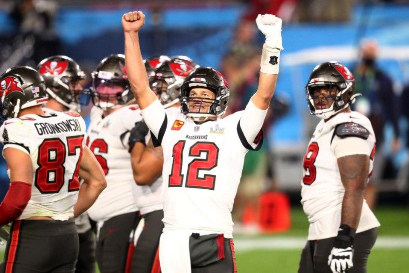 BLOGI JA VIDEOD   TAPATALGUD TAMPA BAYS: Tom Brady võitis seitsmendat korda Super Bowli