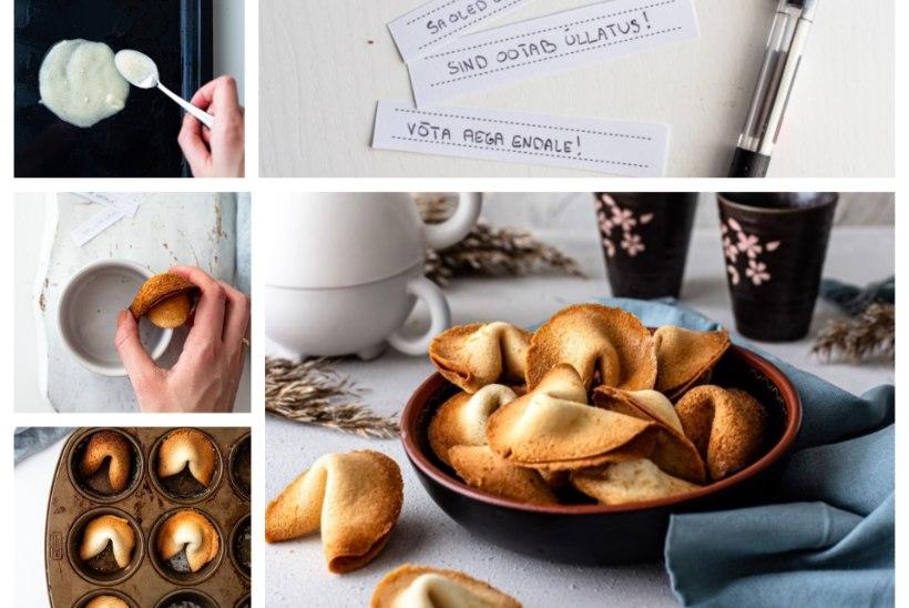 SAMM-SAMMULT! Valmista pühvliaastaks Hiina õnneküpsiseid!