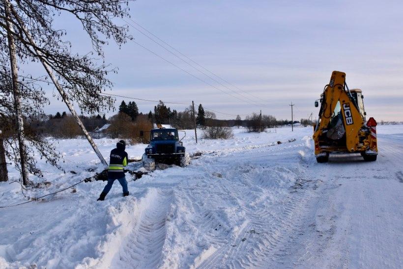 Elektrilevi lülitab külas südatalvel viieks päevaks voolu välja! 85aastane elanik: kõige külmemal ajal on see absurd!