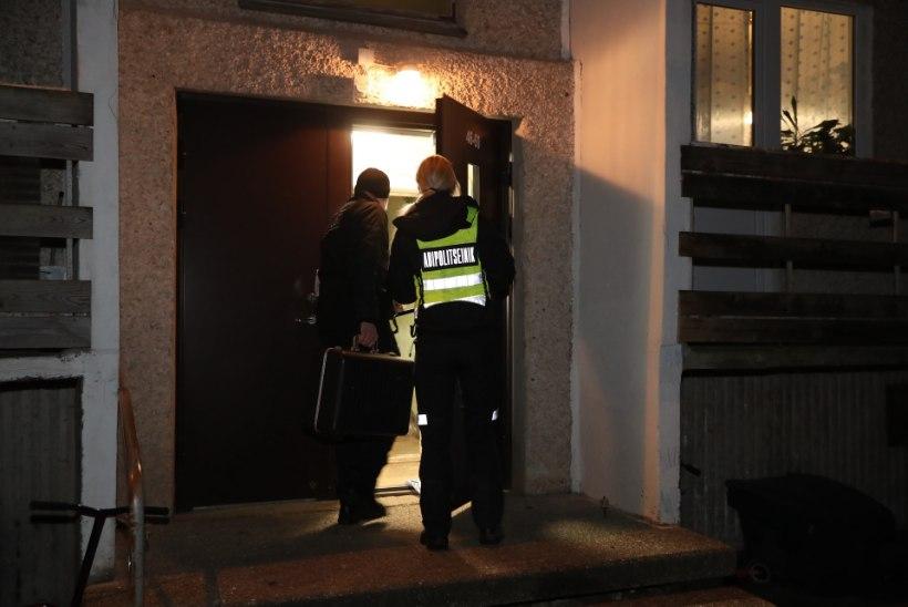 VIDEO JA FOTOD   Võhmas pussitati kortermaja trepikojas kahte last, politsei pidas kinni 37aastase naise