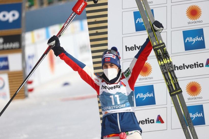 Naiste hooaja viimane etapivõit läks Norrasse, MK-sarja üldvõit aga USAsse