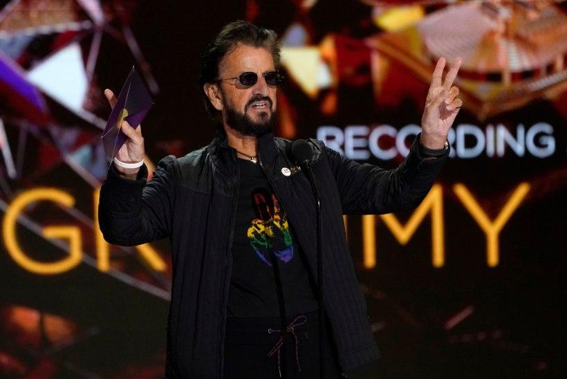 80aastane Ringo Starr nägi Grammyde laval erakordselt nooruslik välja