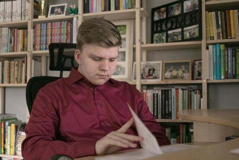 """Haruldase haigusega elav 14aastane Peeter: """"Päev, kui parem jalg ära lõigati, oli mu elu parim."""""""