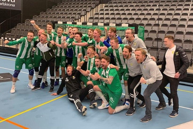 Eesti käsipallur aitas Rootsi klubil ajalugu teha