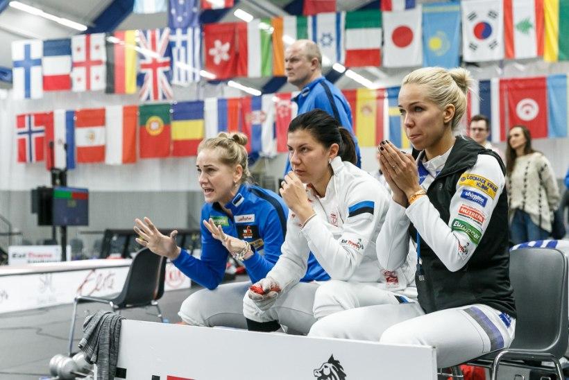 Segase võistlusjanuga vehklemiskoondis jahib olümpiapiletit segasel ajal ja segases süsteemis