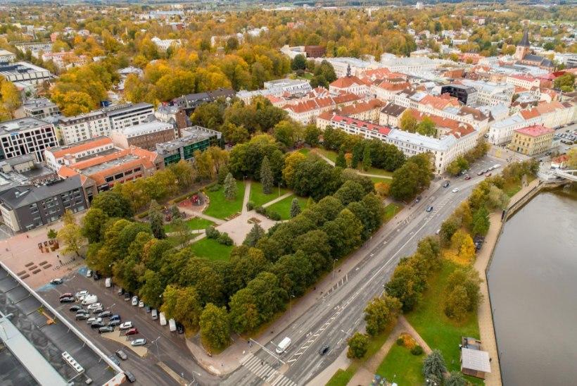 TARTLASTE TULINE VAIDLUS: kas hoida parki või ehitada sinna südalinna kultuurikeskus?