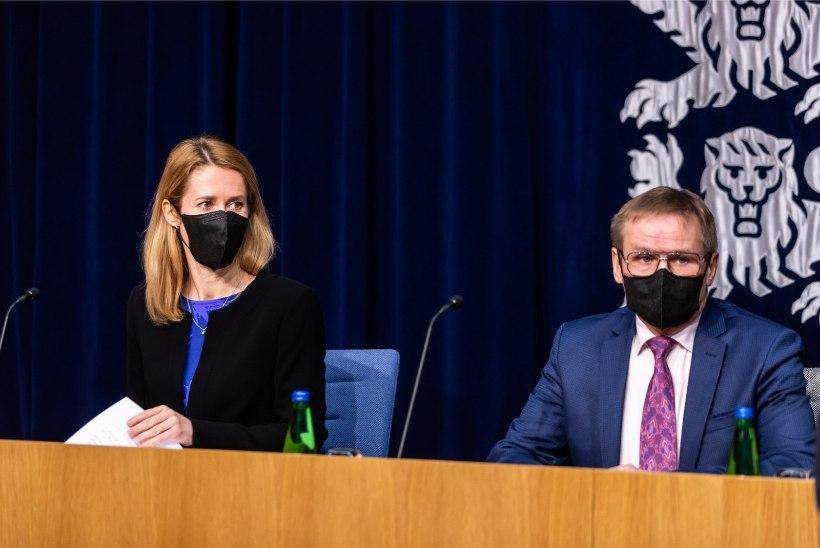 Peaminister Kallast asendab nädala lõpuni Jaak Aab