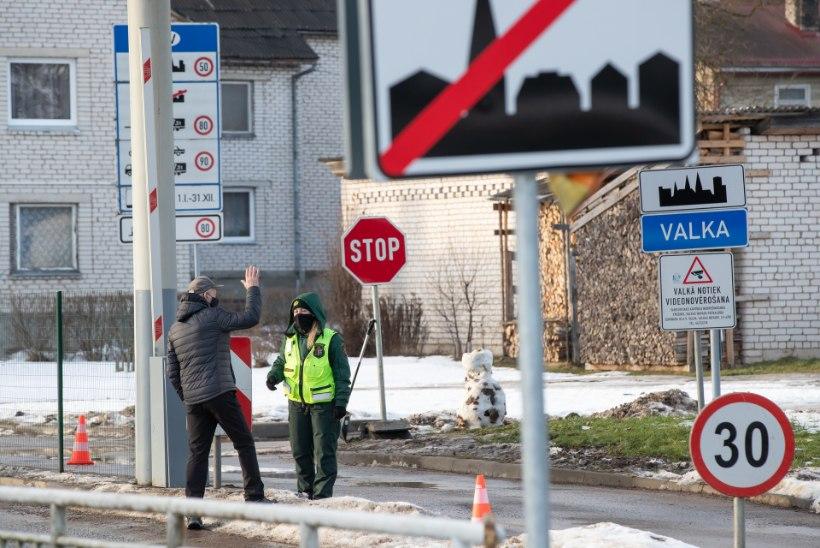 PUNASES TSOONIS: ükski riik ei oota Eestist saabuvaid reisijaid avasüli