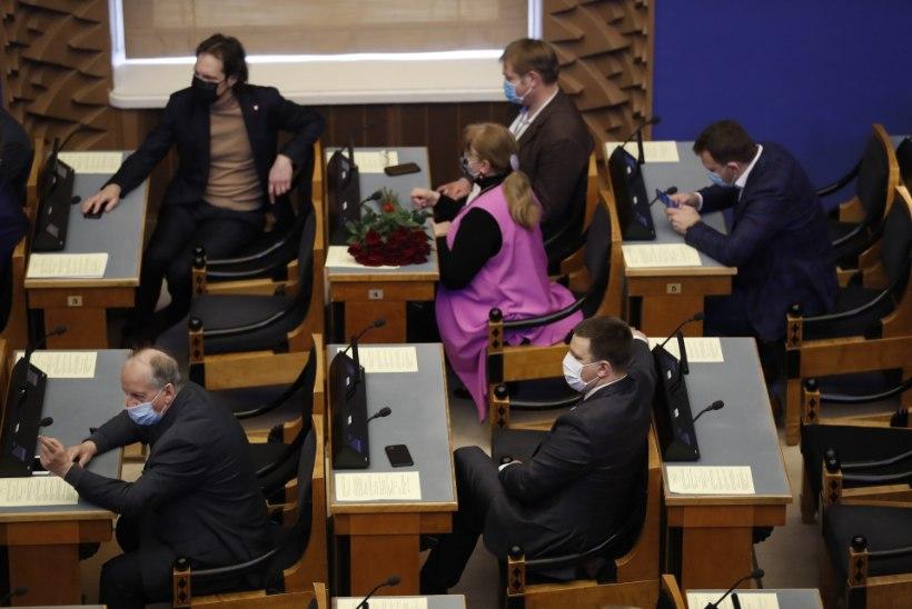 OOTUSPÄRANE: Jüri Ratas valiti riigikogu esimeheks