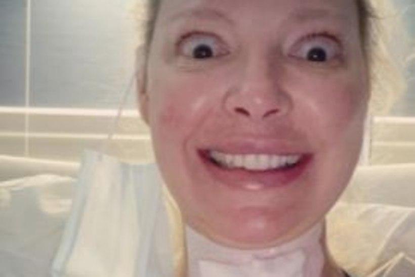 Katherine Heigl sai tänu lõikusele põrgulikest valudest priiks