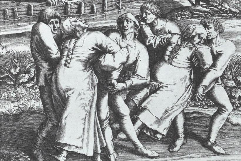 Müstiline tantsukatk haaras inimesed endasse, kuni nad jõuetult langesid