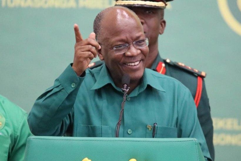 BULDOOSER LAHKUS LAVALT: Tansaania president eitas koroonat, kuid võis sellesse surra