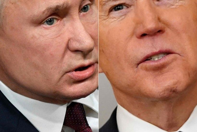 """""""Kas ta on mõrvar?"""" """"Hm! Arvan küll."""" Bideni-Putini sõnasõjal on tagajärg"""