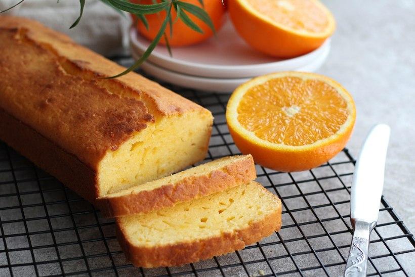 Lihtsa koduse maitsega särtsakas apelsinikeeks