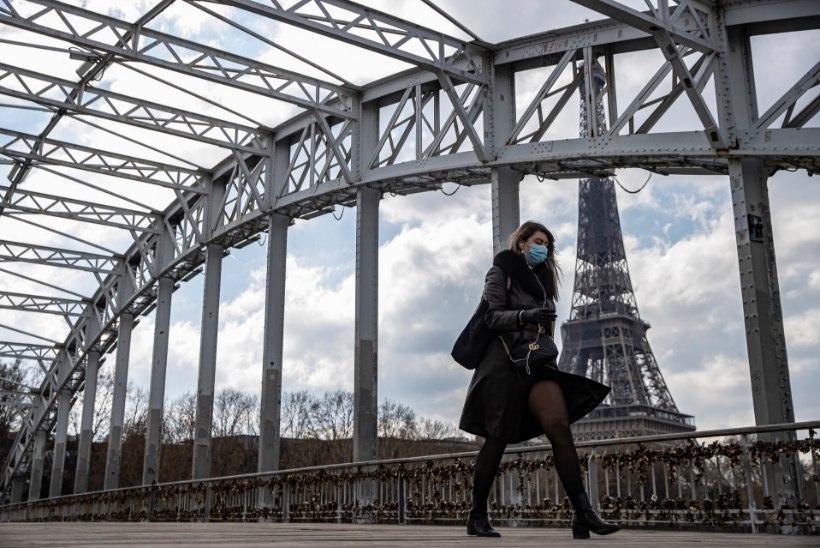 Prantsusmaa ja Poola karmistasid koroonapiiranguid