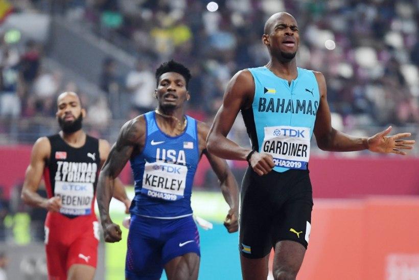 400 meetri jooksu valitsev maailmameister avas hooaja suurepärase tulemusega