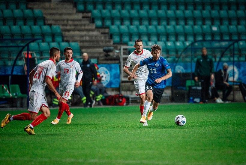 Eesti meeste jalgpallikoondise koosseisus tehti MM-valikmängu eel sunnitud muudatusi
