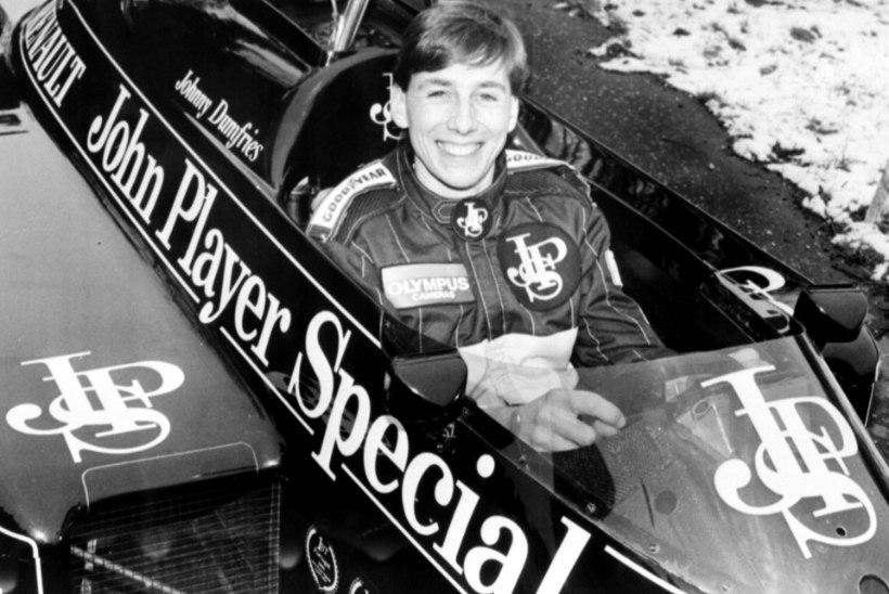 Suri endine vormel 1 piloot, kes oli omal ajal Ayrton Senna tiimikaaslane