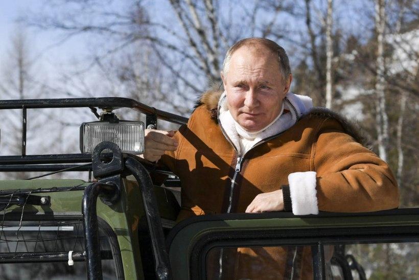 SUTSTI? Putin vist lasi ennast vaktsineerida... väidetavalt