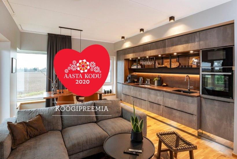 FOTOLUGU | Aasta Kodu köögipreemia pävinud köök jääb kohe oma erilisusega silma