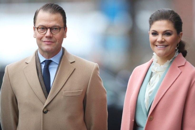 Printsess Victoria ja tema mees on koroonast paranenud