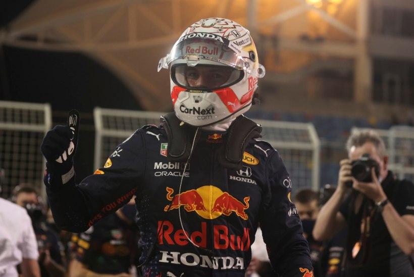 PALEEPÖÖRE? Verstappen tõmbas Bahreini GP ajasõidus Mercedese pilootidele koti pähe