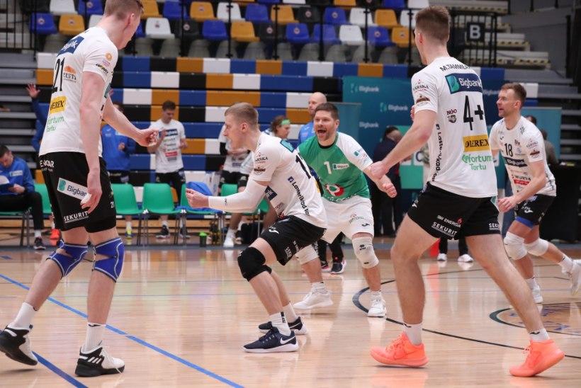 GALERII | Ühepoolne finaalseeria algus: Tartu oli kindlalt parem Saaremaast