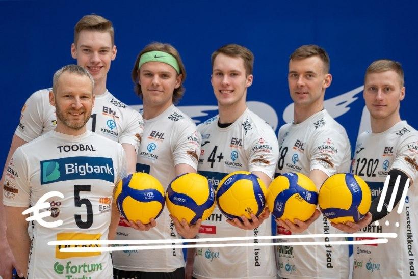 Ajaloo suurim leping: Bigbank toetab Tartu võrkpalliklubi kopsaka rahasummaga