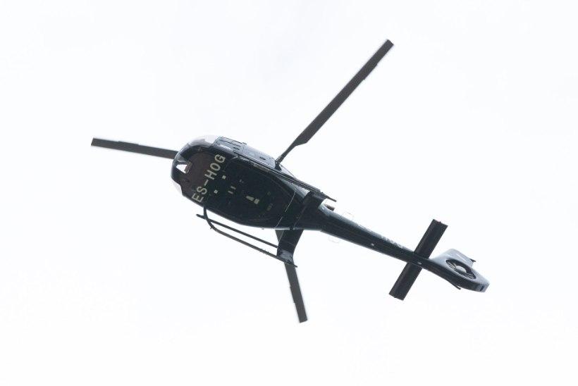 SÜÜDI! Tartlane pimestas laseriga Oleg Grossi helikopterit