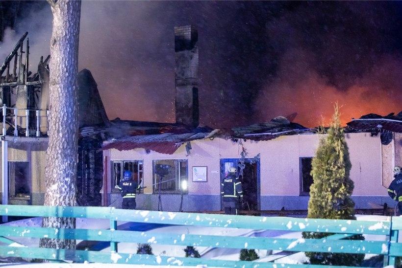 Lüganuse valla hooldekodu põlengu põhjustas vigane pistikupesa