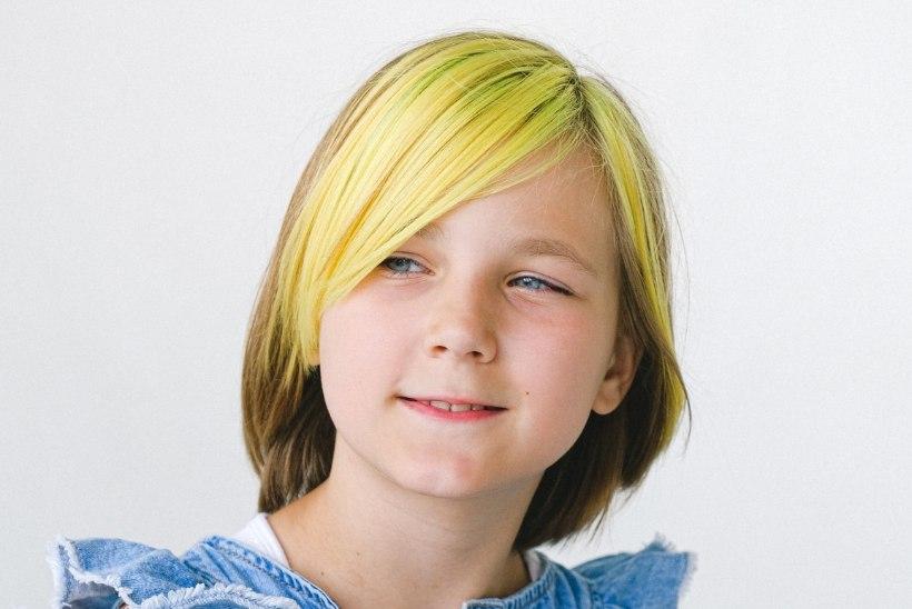 Juuksur selgitab: millal laste juuksevärvimise soovile järele anda?