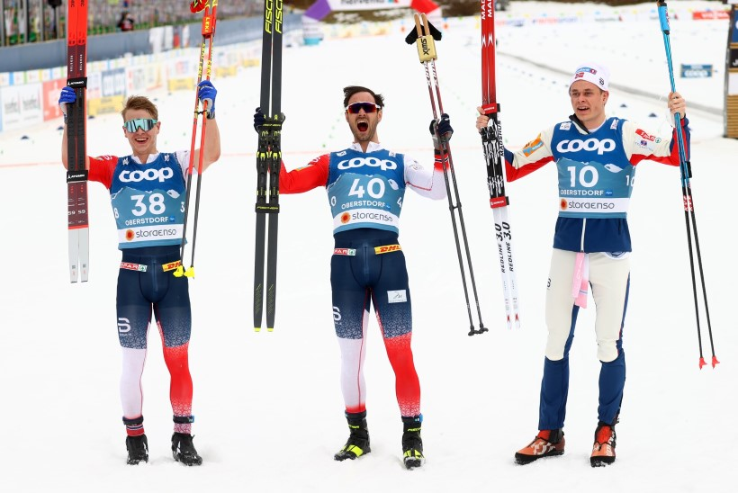 Norra kolmik jättis Bolšunovi medalita