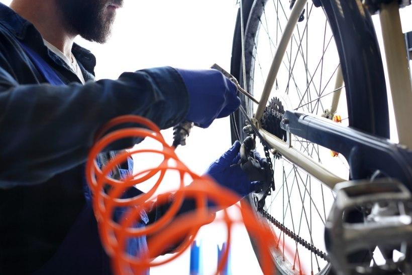 ÜHEKSA SAMMU: lihtne spikker jalgratta sõidukorda seadmiseks kodustes tingimustes