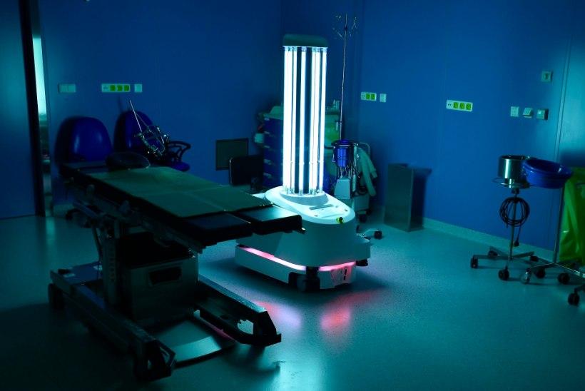 VIDEO | Vaata, kuidas haiglas töötab robot, mis saab jagu isegi koroonaviirusest!