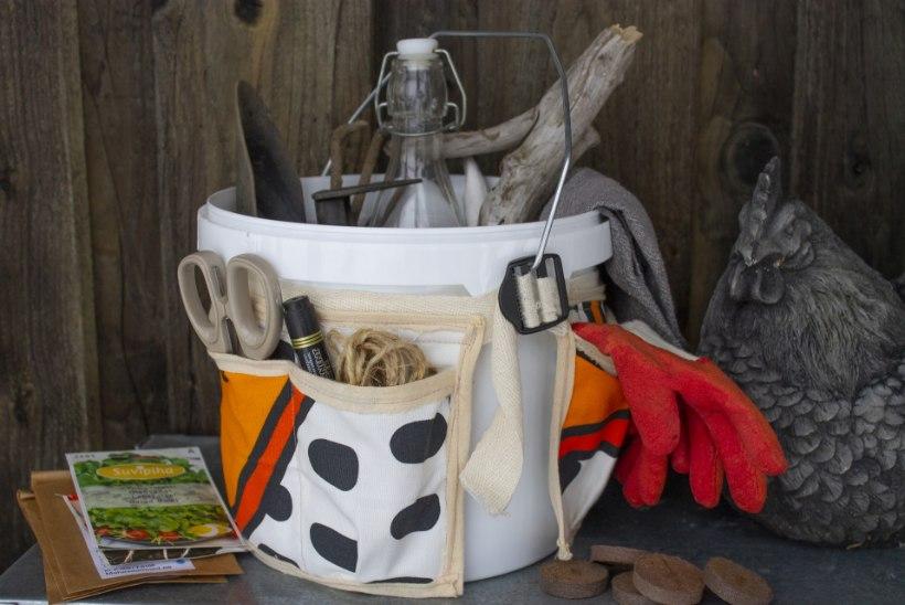 Hädavajalik aiapidajale: taskutega tööriistaämber teeb elu mugavaks!