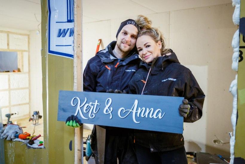 """""""NAABRIST PAREM""""   Anna-Liisa ja Kert: kodu on meil olemas, ehitame hoopis spaa-saunamaja"""