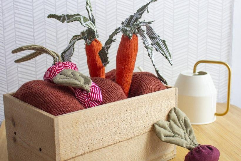 VAHVA MEISTERDUS: juurviljaaed väikesele rohenäpule