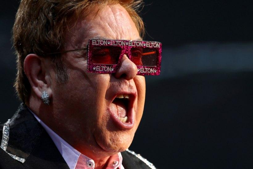 ÜLLATAV KOMBINATSIOON: Elton teeb koostööd Metallicaga