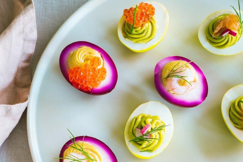 PÜHADEMUNADE TAASKASUTUS: täidetud munad 13 eri moel