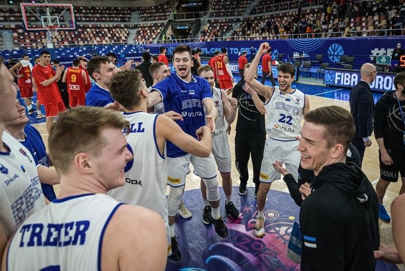 Korvpalli uus kuldne põlvkond | Erkmaa: kui noored talendid oleksid jäänud Eestisse, siis me poleks EMil