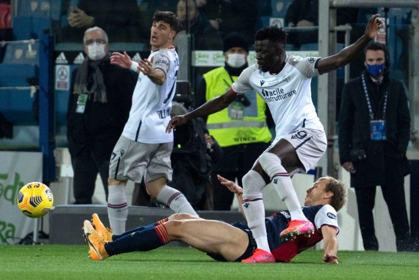 Üle pika aja algkoosseisu pääsenud Klavan aitas Cagliari võidule