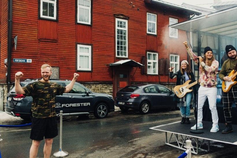 Daniel Levi üllatas fänne kontsertidega nende koduõues: oli värskendav taas esineda!