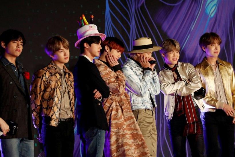 Lõuna-Korea popsensatsioon BTS on maailma edukaim artist