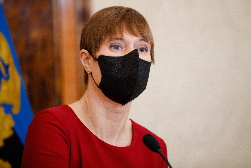 FOTO | President Kaljulaid sai koroonavaktsiini