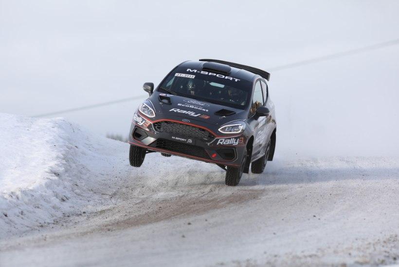 Ken Torn näitas Soomes rallimaailmale Ford Fiesta Rally3 potentsiaali